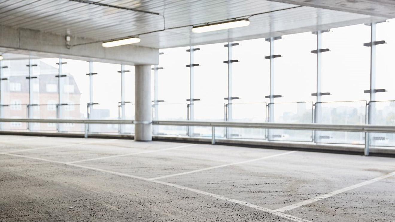 Bild på parkeringshuset Skruven